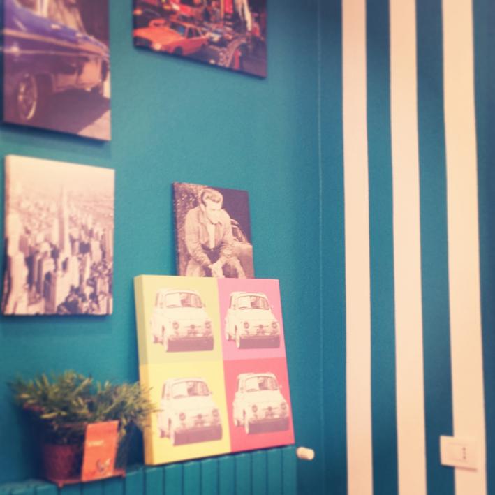 Tinteggiatura e decorazione a righe verticali  My CMS