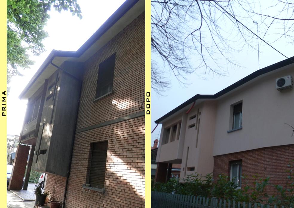 Prima e dopo (facciata)