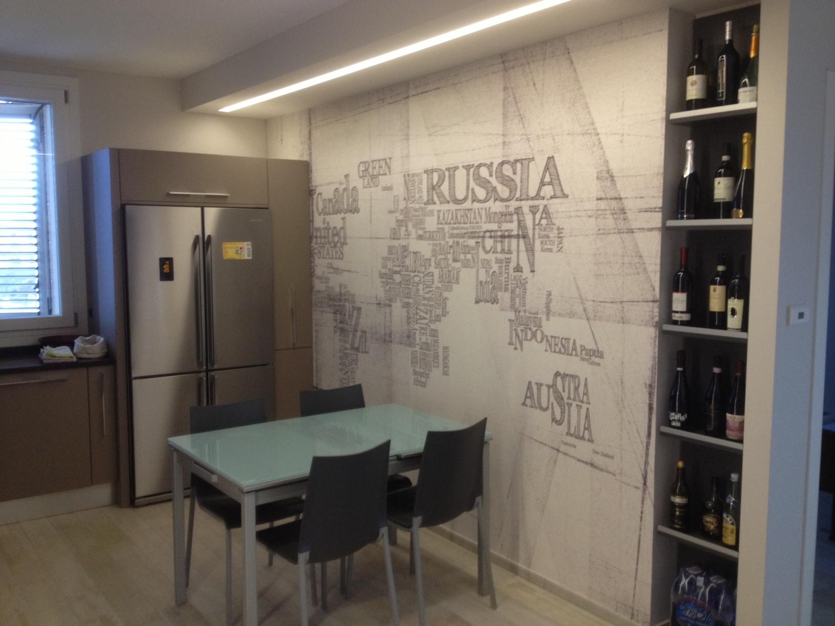 Cartongesso interni casa privata vernicefresca for Cartongesso sala