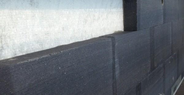 Particolari dei materiali usati per un isolamenti termico esterno