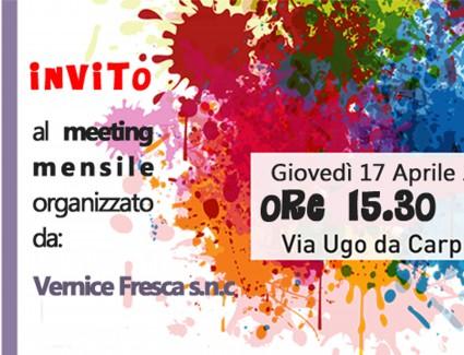 Invito 1° Meeting pomeridiano (Aprile)